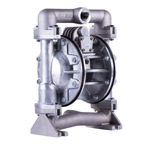 E1 (25MM) Bolted Metal AODD Pump Side