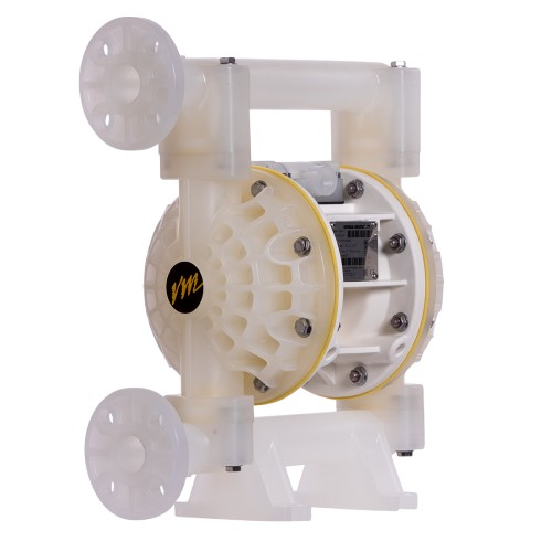E1 (25MM) Bolted Plastic AODD Pump Side