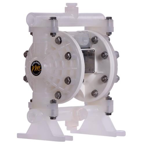 E5 Half Inch (13MM) Bolted Plastic AODD Pump Side
